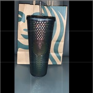 ❌SOLD❌New Starbucks Fall 2020 black iridescent